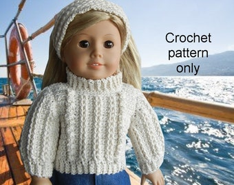 Grey Totoro Amigurumi Pattern : Crochet pattern PDF for 18 inch child doll American Girl