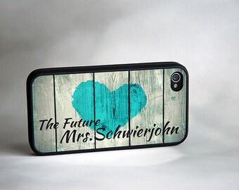 The Future Mrs iPhone Case + Monogram iPhone Case + Rustic Country iPhone 6 Case, iPhone 6 Plus, 6+ Case
