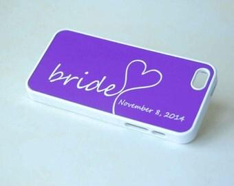 Personalized Phone Case Bride iPhone 6 Case, iPhone 6 Plus Case, iPhone 6s Case, iPhone 6s Plus Case, iPhone SE Case
