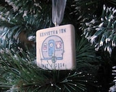 Personalized RV Camper Christmas Ornament With Gift Box