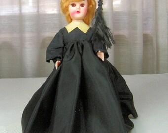 Vintage Sleepy Eye Doll with Graduation Costume