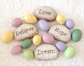 Resultado de imagem para eggs and stones
