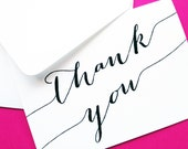Forever Thank You Cards - Thank You Card - Thank You Notes - Note Card Thank You