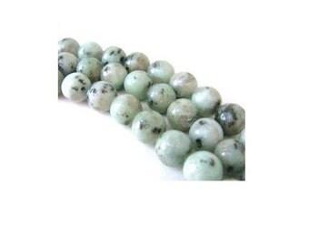 4MM New Kiwi Jasper Gemstone  Beads , Full Strand , 15.5 Inch Strand