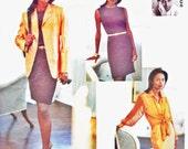 Vogue 1512 ISAAC MIZRAHI Dress, Shirt & Jacket (8-12) Vogue Attitudes Designer Sewing Pattern