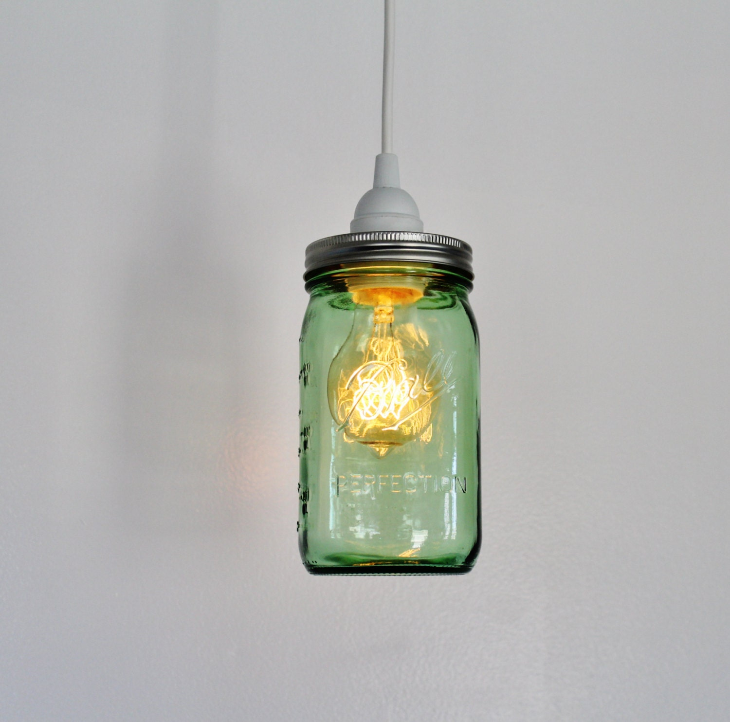 mason jar pendant lamp upcycled hanging lighting fixture