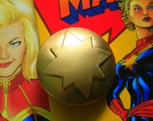 Captain Marvel Medallion Cosplay Prop Carol Corps Costume Accessory