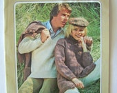 Natural Look Beehive 507 Sweater Knitting Pattern Book