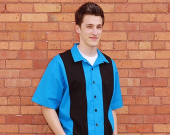 Bowling Shirt Pattern for Tweens, Teens and Adults,  PDF Sewing Pattern E-Book by Scientific Seamstress