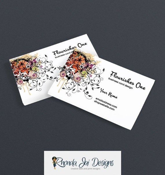 business card designs printable business card design premade