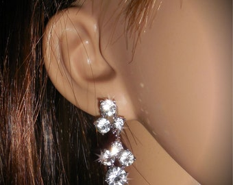 Wedding Rhinestone Earrings