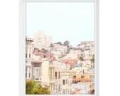 San Francisco 2 (Rooftops) // 8x10 Fine Art Giclée Print // Photography