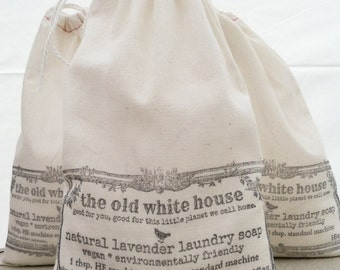 natural lavender vegan laundry soap