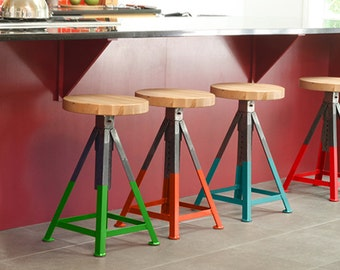 Jackson adjustable Industrial stool