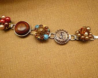 Bracelet Vintage Bohemian Gypsy Beaded Bracelet