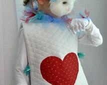 White Rabbit Costume from Alice and Wonderland, Rabbit Costume for Easter, Child Spring costume, girls spring celebration  Halloween Costume