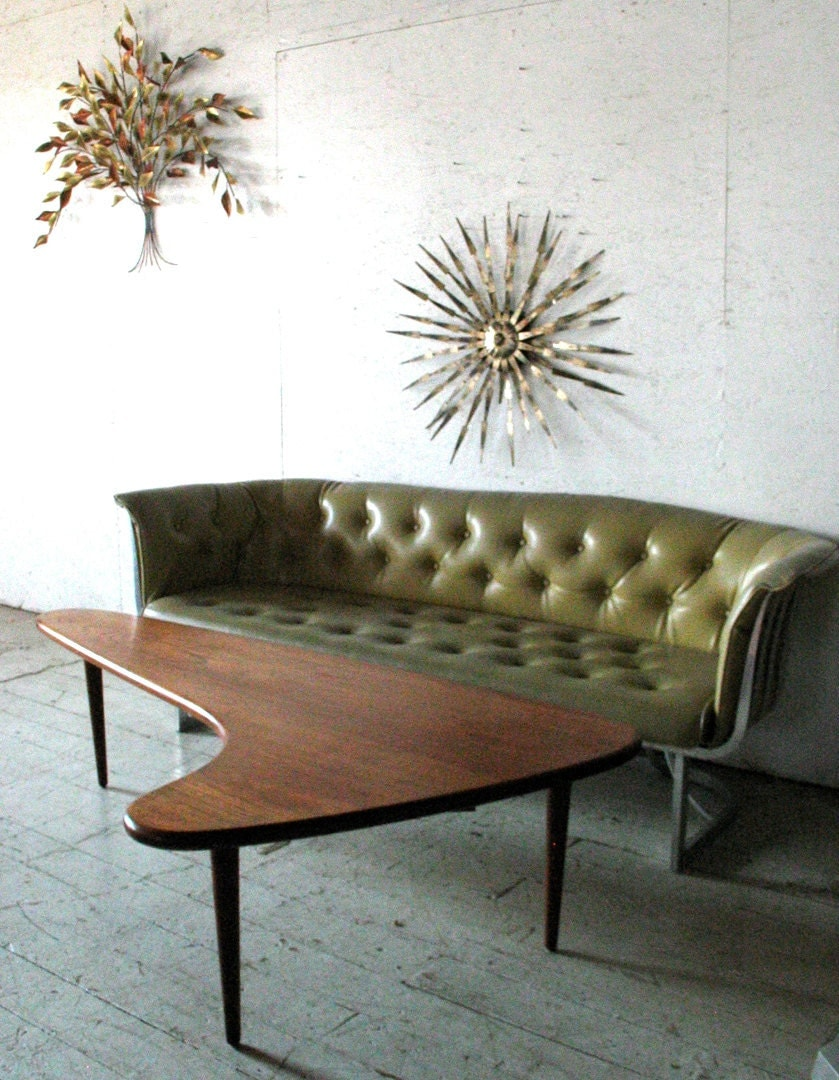 ^ Sofa are Vintage ussell Woodard luminum Sofa by groovygirl60