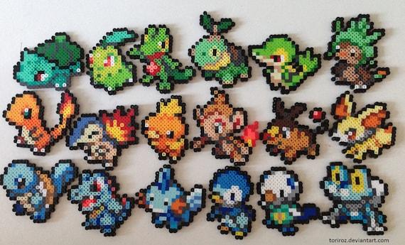 Commande sp ciale pokemon perler choisissez votre propre - Pokemon perle evolution ...