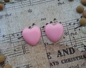 Girly Plugs Light Pink Heart Gauges