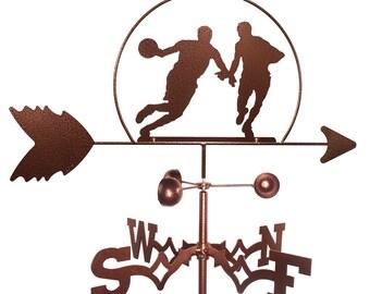 Hand Made Basketball Player NBA Weathervane New