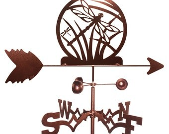 Hand Made Dragonfly Weathervane New