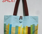 My Favorite Reusable Tote in Blue by SBMathieu
