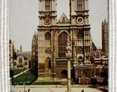 Westminster Abbey, London - Unused Vintage Postcard