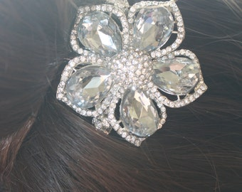 Bridal Hair Comb - Wedding Hair Comb- Wedding Hair Accessories-Rhinestone Bridal Comb-Crystal Wedding Comb-Bridal Headpiece