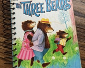 The Three Bears Recycled Book Blank Journal