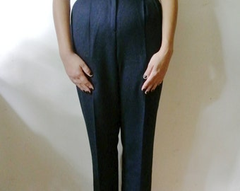 SALE - Vintage Pants Navy Blue Slacks Pendleton Size 4 X-Small Small Gift For Her