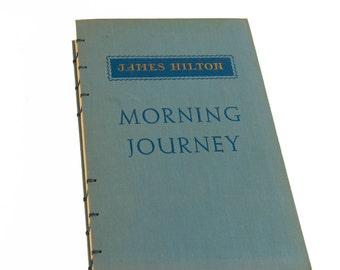 1951 MORNING JOURNEY Vintage Journal Notebook