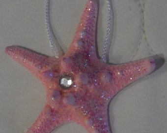 Pink Starfish Ornament