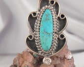 RESERVED for IVYTurquoise Sterling Silver Ring