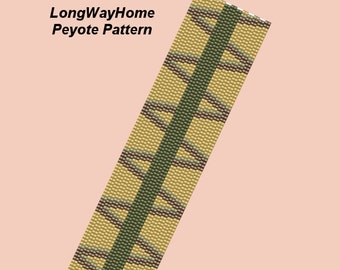LONG WAY HOMEPeyote Bracelet Pattern