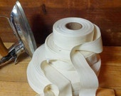 "TWILL TAPE  natural or white 3/4"", 1"", 1 1/4"", 1 1/2"" all in one listing!"