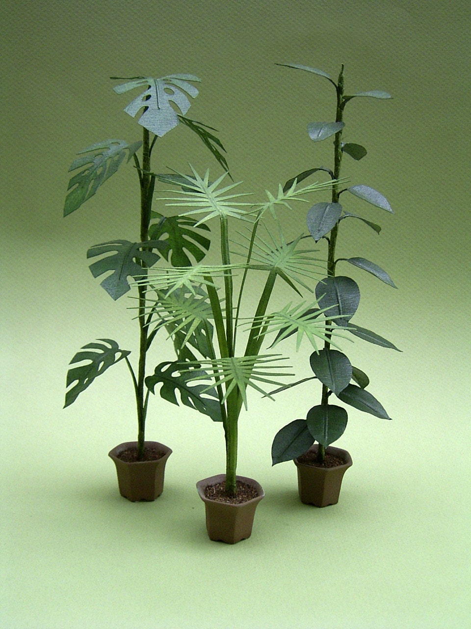 Instruction Sheet For Large Indoor Plants For 1 12th Scale