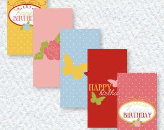 Butterfly Party PRINTABLES Mini Candy Bar Wrappers by Love The Day