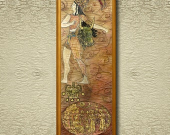 Minoans I - Fine Art Print on heavy Cotton Canvas - unframed