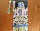 Owl Love Nest   Bookmark