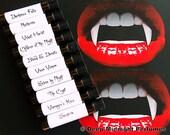 LOVE BITES Perfume Sampler Set: Vampire inspired perfume oils, ten 1 ml vials