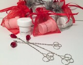 20 Personalized Birthday Party Bubble Wand Favors, 1st 5th 16th 21st 30th 40th 50th, 100% Handmade in USA