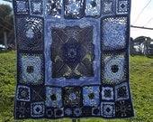 UK Terms To the Sea Lap Blanket  PDF Crochet Pattern