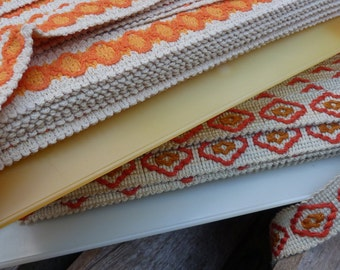 4 Yard of different type of vintage RIBBON - Retro Spanish design