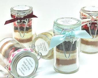 Hot Chocolate Favor, 12 Mini Snap Top Jars, Winter Wedding, Hot Cocoa Wedding Favor, Bridal & Baby Shower, Corporate Gift, Edible Favor