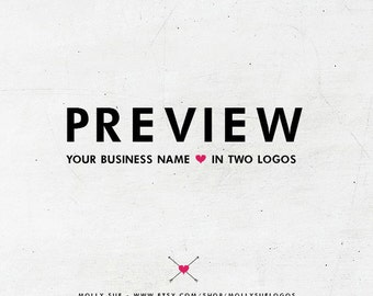 Preview Your Name in Two Logos