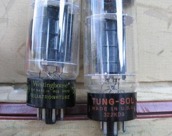 Vintage Electron Tubes - RCA, Sylvania, GE, Raytheon
