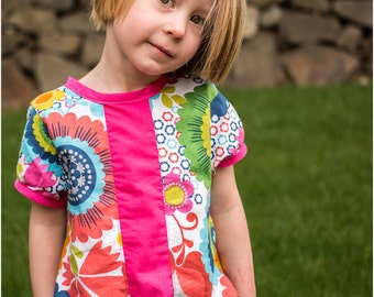 Evelyn Dress and Tunic: Girls Dress PDF Pattern, Baby & Toddler Dress PDF Pattern