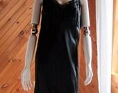 Vintage Lingerie   Black Slip   Vintage Lingerie 1950s 1960s   Black Lace Full Slip   Vintage Petticoat   Pin Up Lingerie   Pin Up Girl