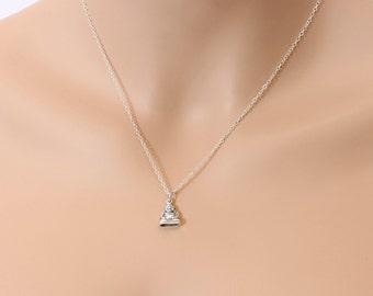 Laughing Buddha, Buddha Necklace, Spiritual Jewelry, Yoga Necklace, Boho Jewelry, BeadXS, Sterling Silver, Buddha Jewelry, Meditation
