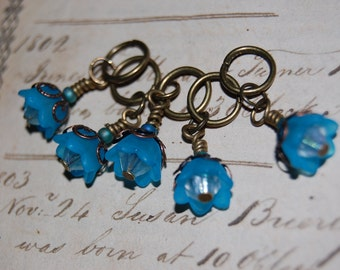 Star Bell Victorian Stitch Markers